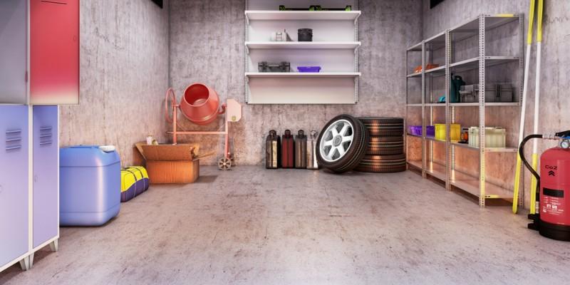 best garage flooring options and ideas