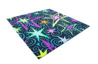 Joy Carpets Neon Lights- Glow-In-The-Dark Carpet Tile Squares