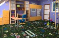 Joy Carpets Tiny Town - Kids Carpet Tile Squares