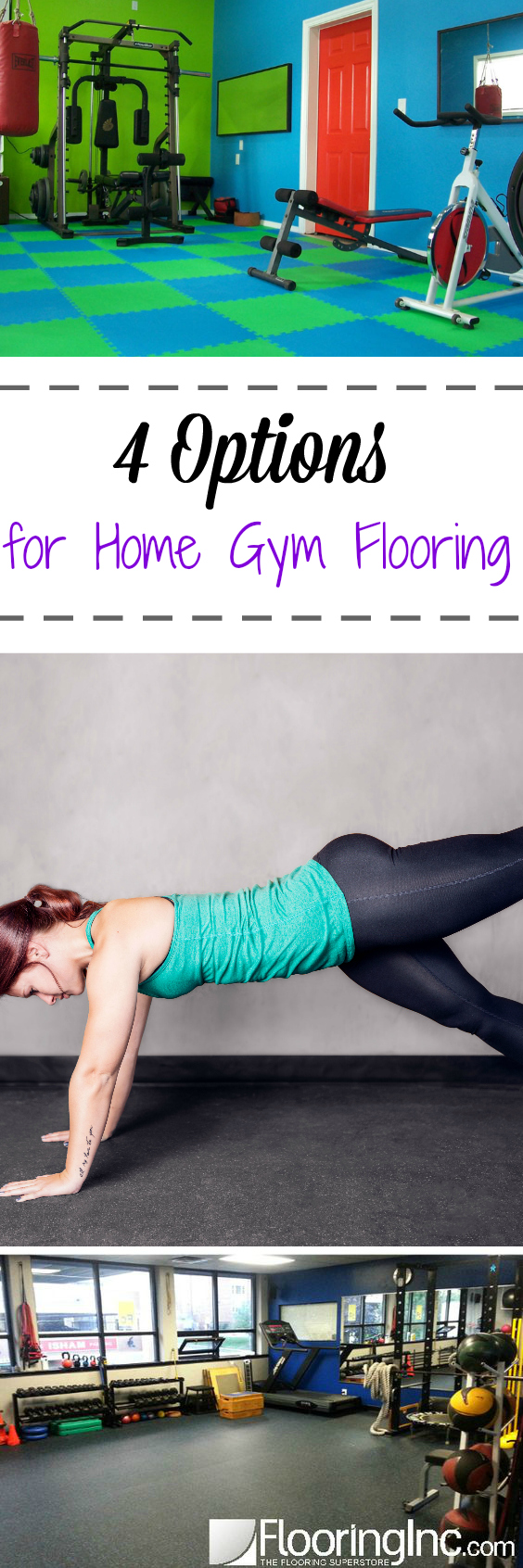 4 Options For Home Gym Flooring Flooringinc Blog