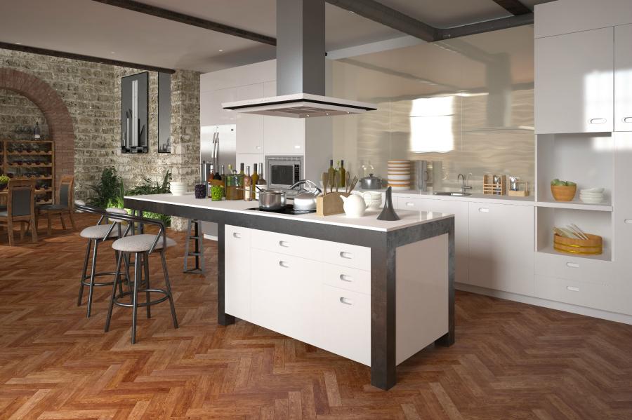 2018 kitchen flooring trends 20 flooring ideas for the for Eigentijds interieur