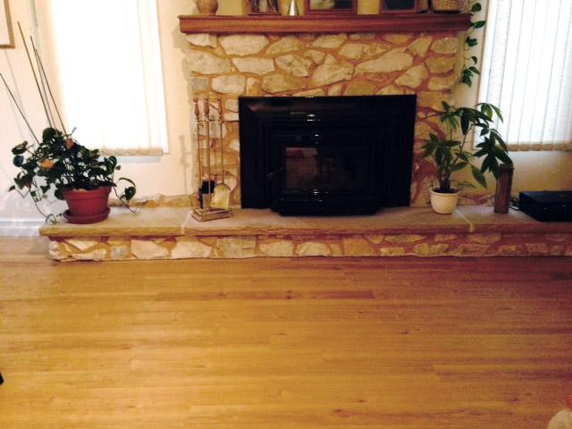 cork flooring in kitchen large white island usfloors coretec plus 5 wpc - durable engineered vinyl ...
