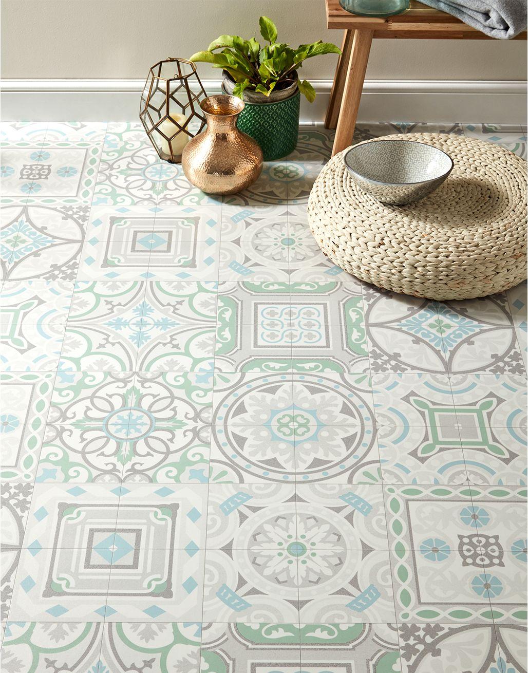 funky antique tiles