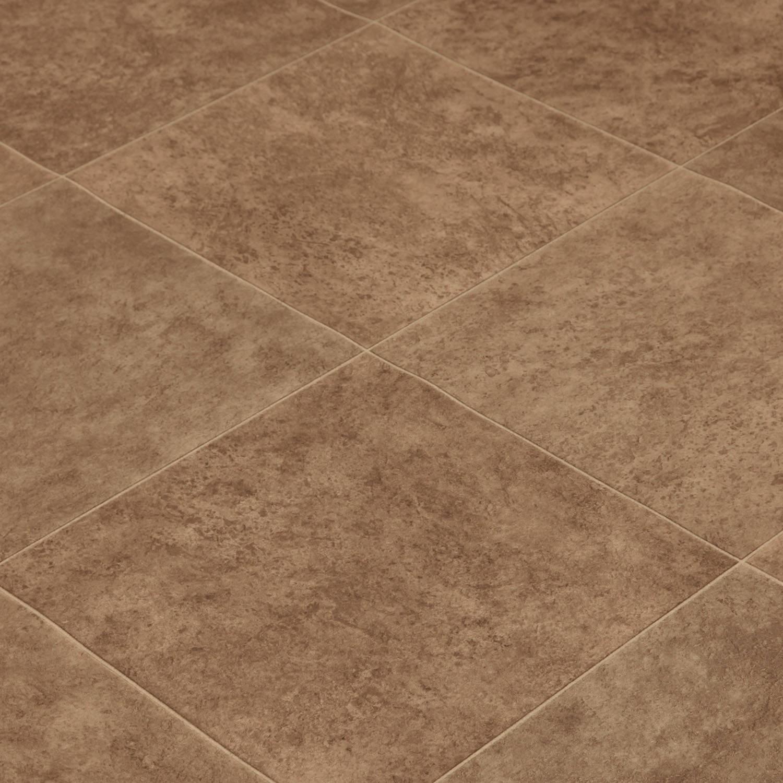 234M Wide High Quality Vinyl Flooring Dark Tiles