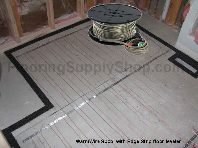 WarmWire Spool Floor Heating by SunTouch Floor radiant