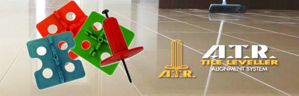 Система выравнивания ATR, выравнивание плитки, без просачивания, клинья, пластик atr, проставки, плоские поверхности, система выравнивания RTC Tornado, система выравнивания Tuscan, выравнивание Раймонди