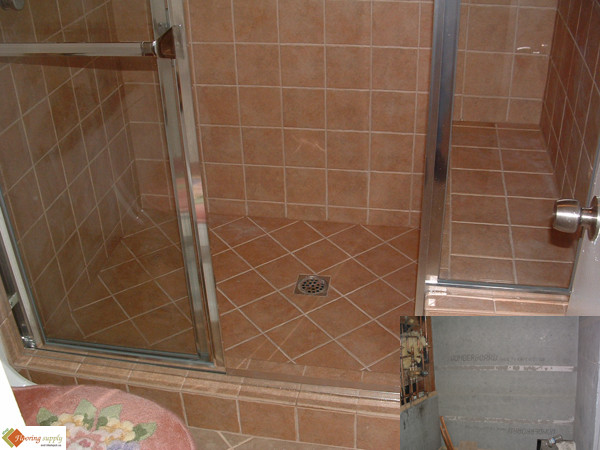 ProPan Shower pans, ProPan shower pan, PreFormed ready to tile Shower Pan, shower pan, tileredi, shower base