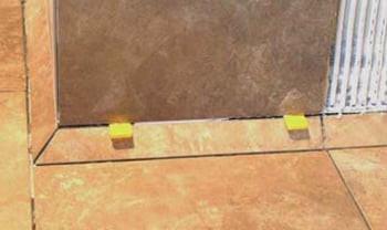 permacove, cove base, tiled cove base, commercial cove base, blanke permacove