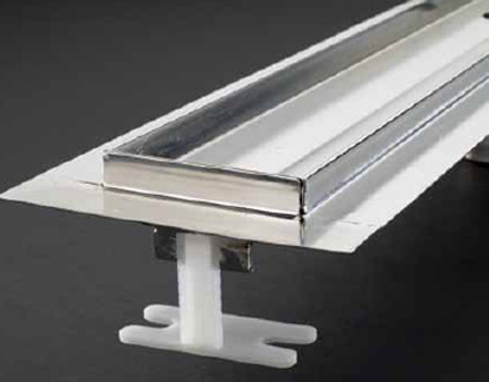 Quartz by aco, Shower Channels, Linear Drain, linear shower channel, shower channel drain, Quick Drain, square drain, rectangle drains, floor grilles, shower grates, Quick Drain