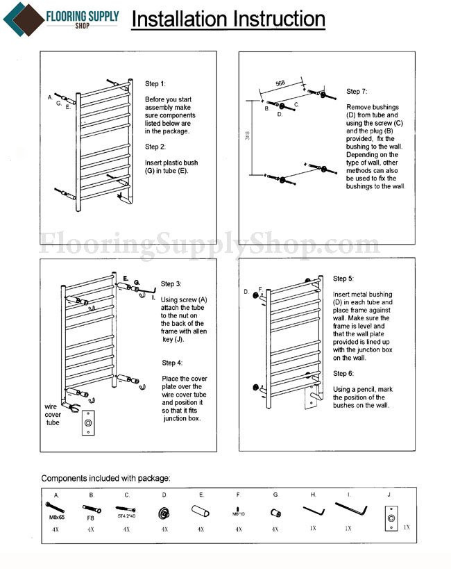 Radiant Towel Warmer, Heated Towel Warmer, Heated Towel Rail, Heated Towel Rack, Electric Towel Warmer, Electric Towel Rack, Electric Towel Warmers, Stainless Steel Towel Warmers