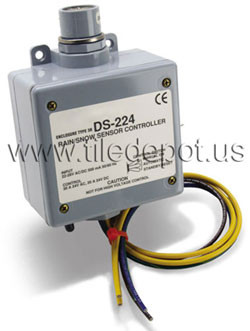 PM-224 Detector Snow and Ice Sensor Controller for Automatically Melting Snow from Sidewalks and Driveways by flooringsupplyshop.com