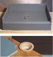PreFormed Shower pan, Ready Made shower Pan PreFormed™ Tile Ready COMPONENTS