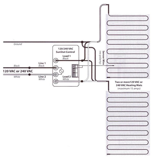 kitchen electrical wiring diagrams 120v