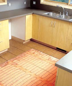 Electric Floor Heating, Radiant Heat Flooring, Radiant Floor Heating, Under Floor  Heating,