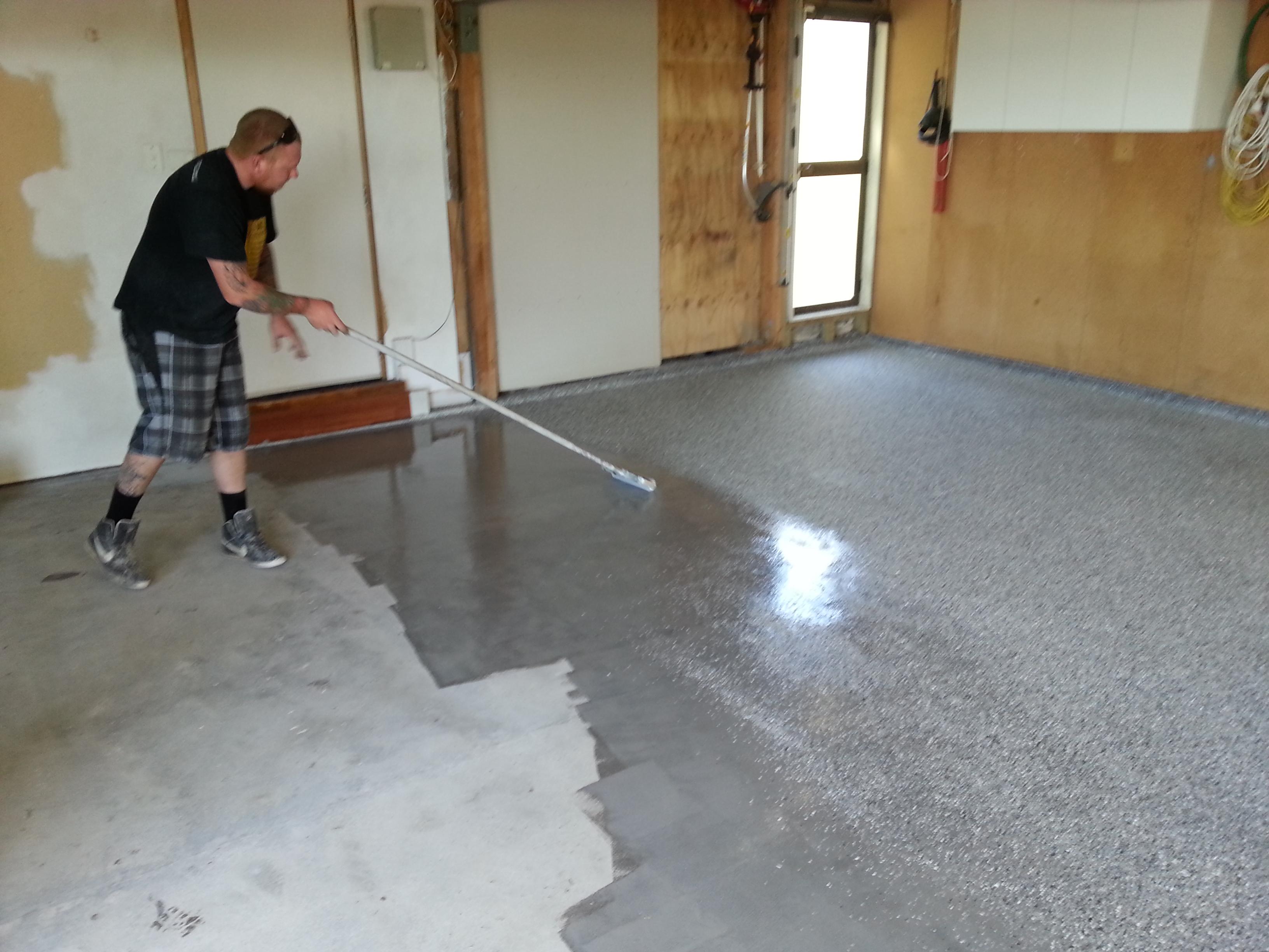 Garage Floor Paint Or Coating Concrete Floor Coatings And Resurfacing New Zealand