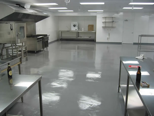 commercial kitchen flooring 50's table and chairs floor coating a is very important