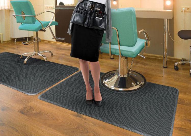 Indoor AntiFatigue Salon Decor Mat  FloorMatShopcom