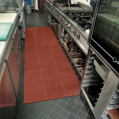Commercial Restaurant Kitchen Mats Cabinet Handles Multi Mat Ii Reversible Drainage Anti Fatigue Floor