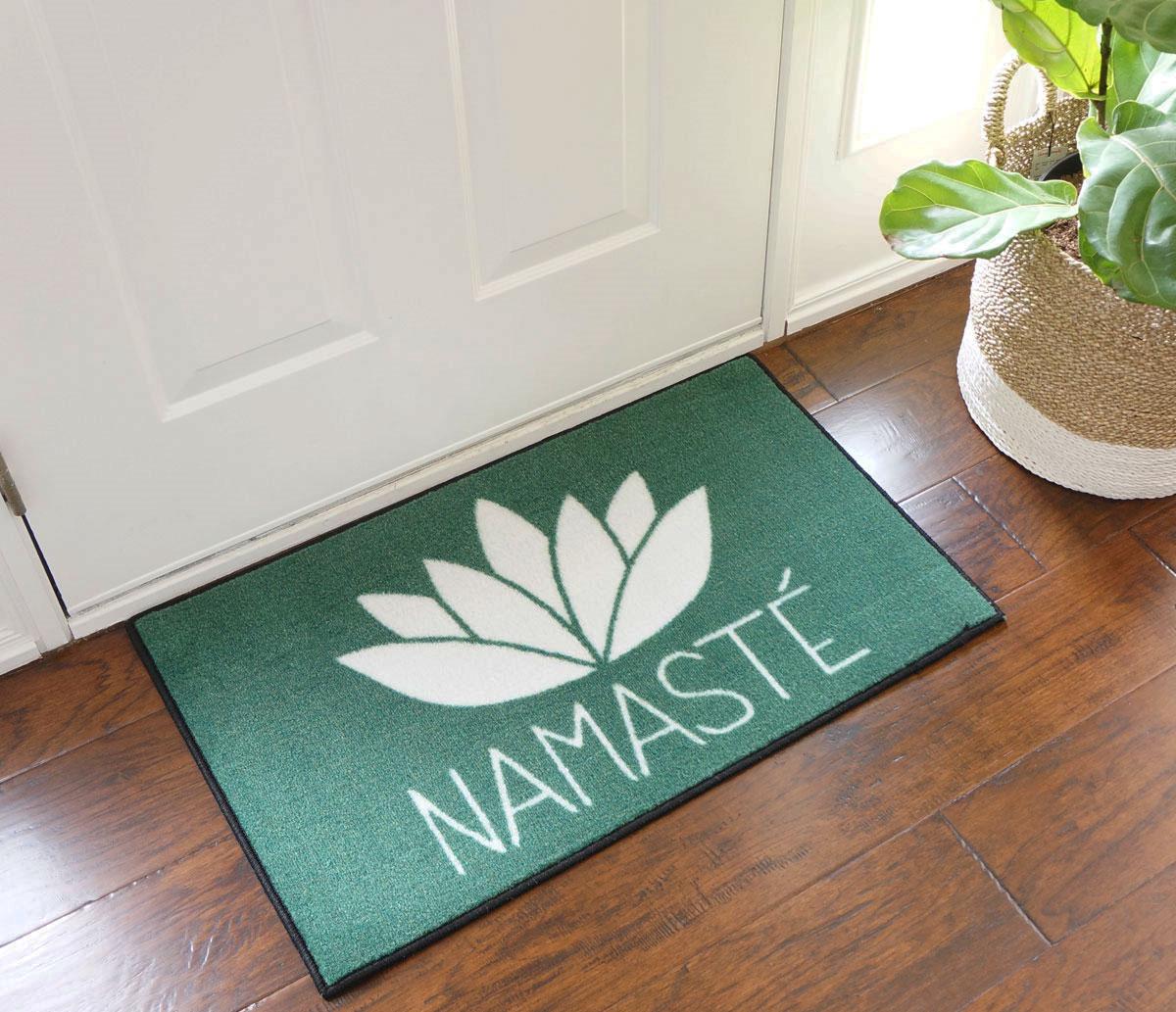 Namaste Door Mat  FloorMatShopcom  Commercial Floor