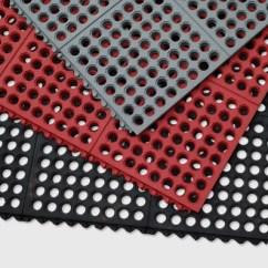 Commercial Restaurant Kitchen Mats Hood Designs Kitchens Floor Mat Systems Ring Interlock Drainage