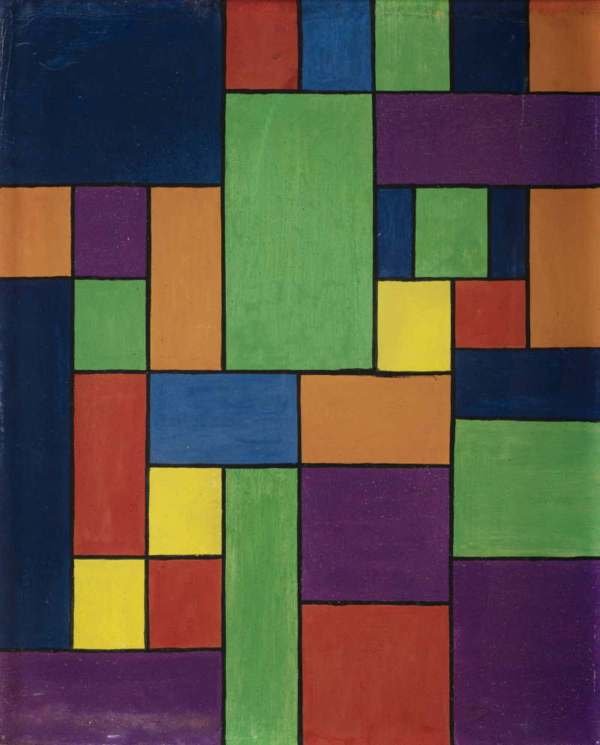 Theo Van Doesburg Expression Of Life Art And