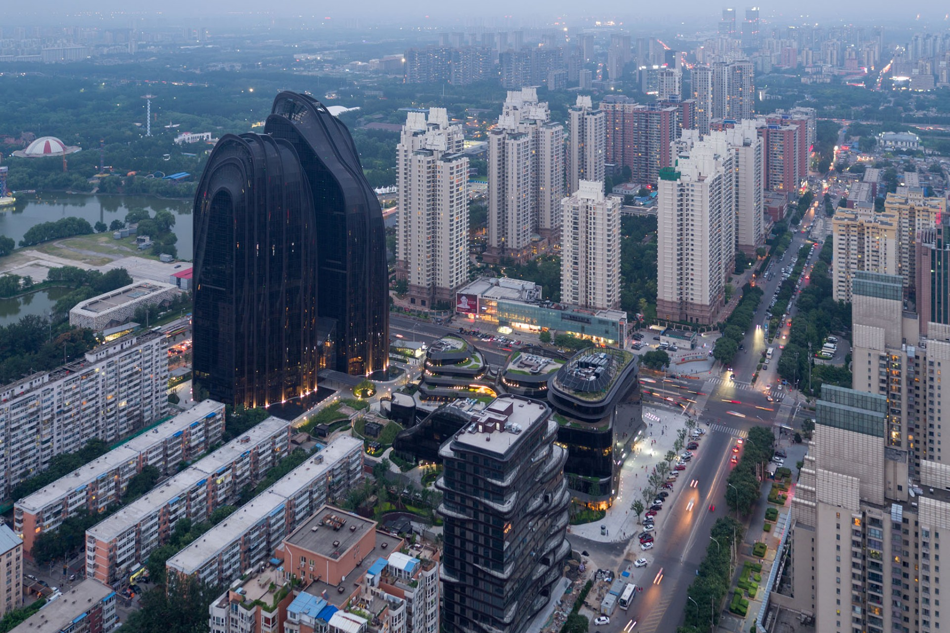 MAD Architects Chaoyang Park Plaza Beijing  Floornature