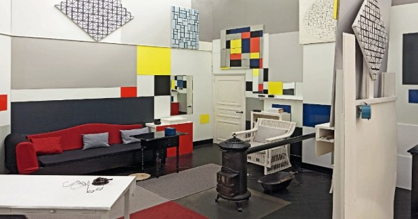 Mondrian And Studios Abstraction World Exhibition Tate Liverpool Floornature