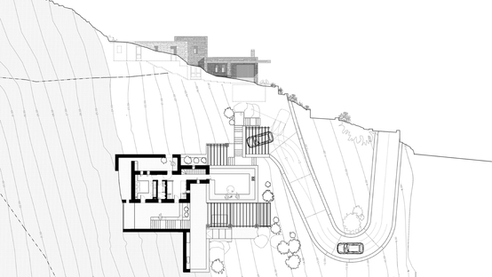 Cometa Architects: Rocksplit house on the island of Kea in