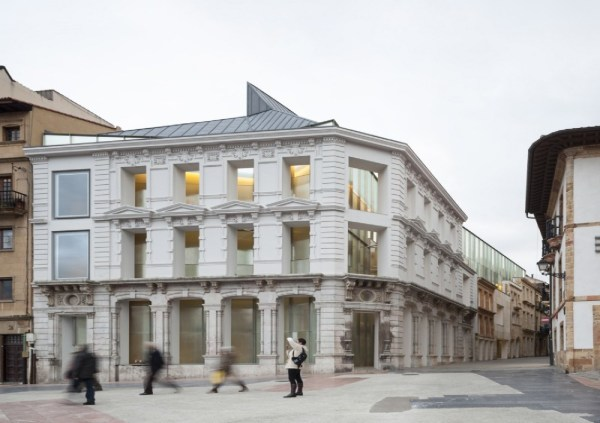 Francisco Mangado Fine Arts Museum Of Asturias Floornature