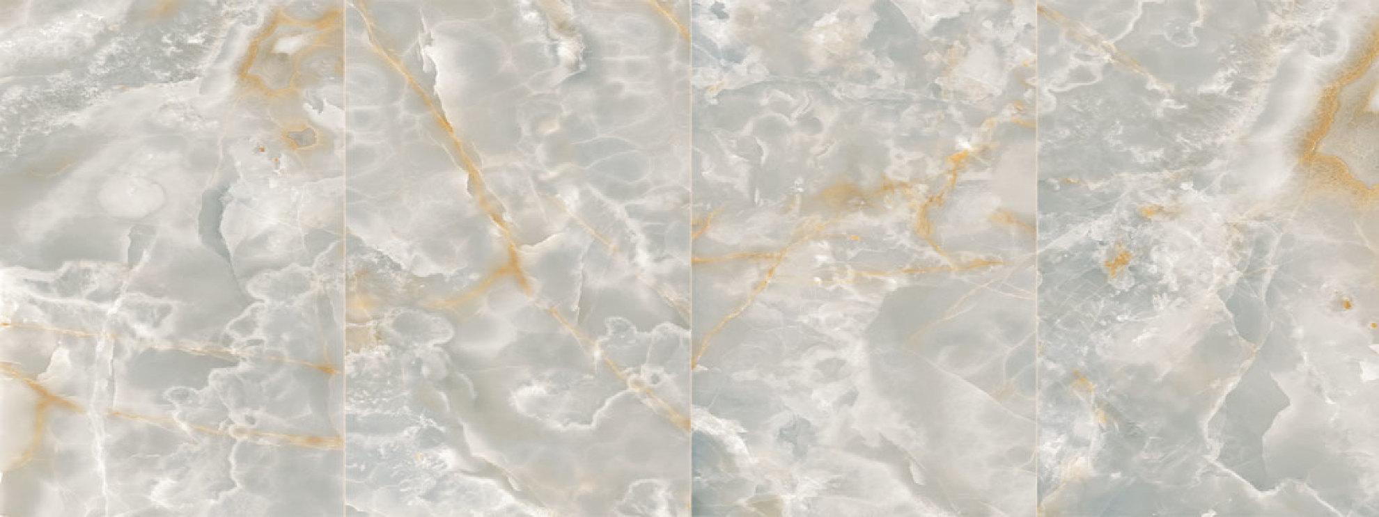 Ultra Ariostea grandi piastrelle in gres effetto onice e metallo  Floornature