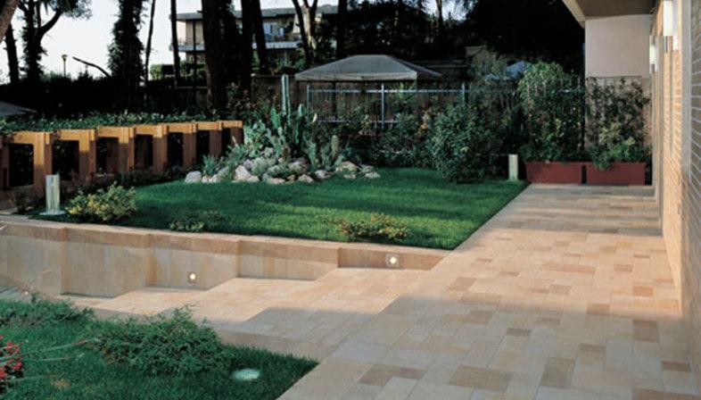 Pavimenti per esterni in gres effetto pietra  Floornature