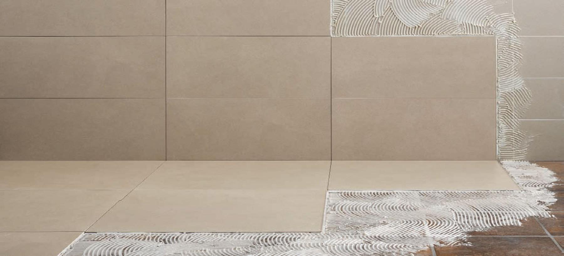 Pavimenti per esterni piastrelle sottili posa su pavimenti