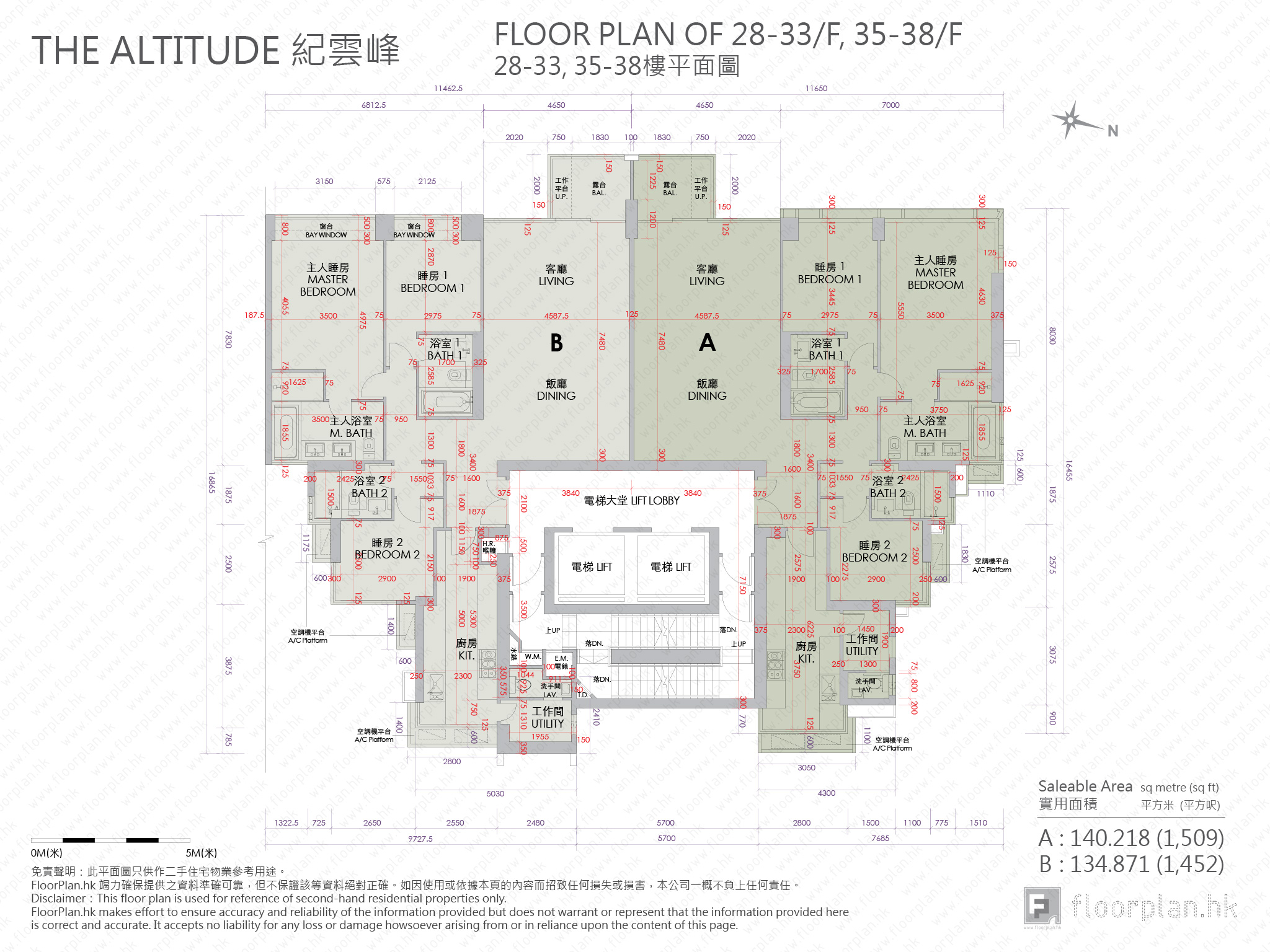 紀雲峰 – 平面圖 FloorPlan.hk