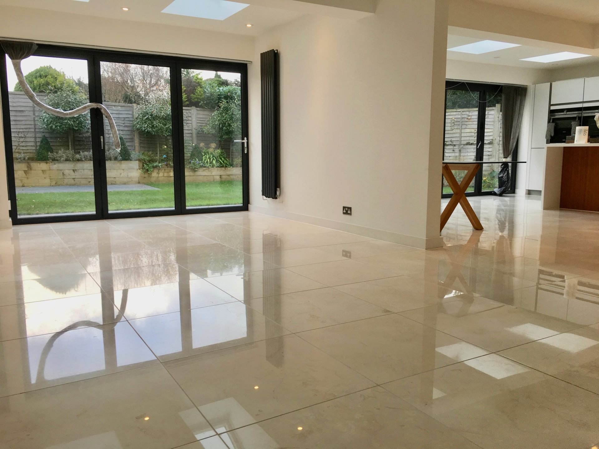marble kitchen floor window treatments above sink cleaner brighton hove east sussex polisher restoration
