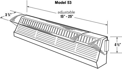 Air deflectors for wall vents