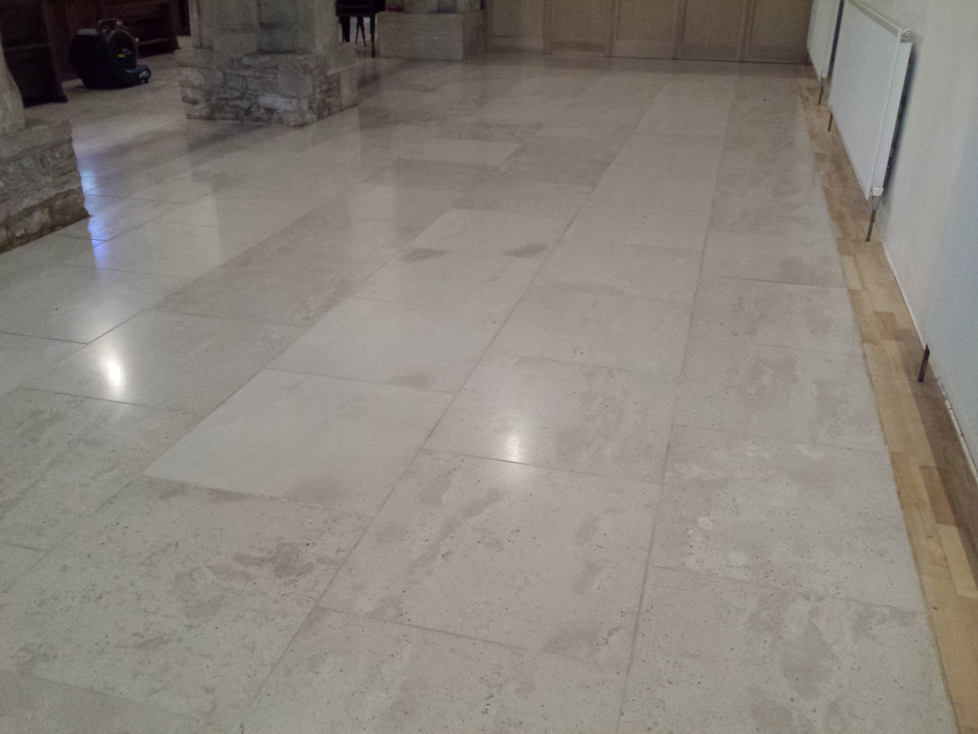Church stone floor cleaning Oxfordshire  Floor Restore
