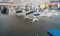 New sports flooring in rolls and tiles for gyms  Energy