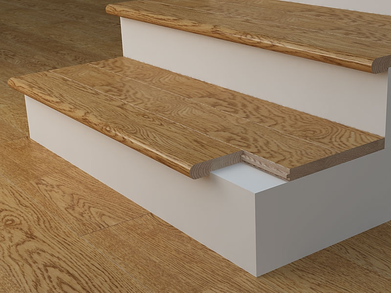 Stair Nosing What Is Its Purpose Blog Floorsave | Hardwood Floor To Stair Transition | Tile | Molding | Vinyl Plank | Laminate | Carpeted Stairs