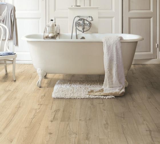 best waterproof flooring for bathrooms