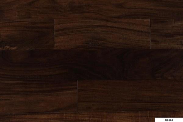 NAF Engineered Hardwood Handscraped T&G Exotic-Walnut Cocoa @ Floors Direct North