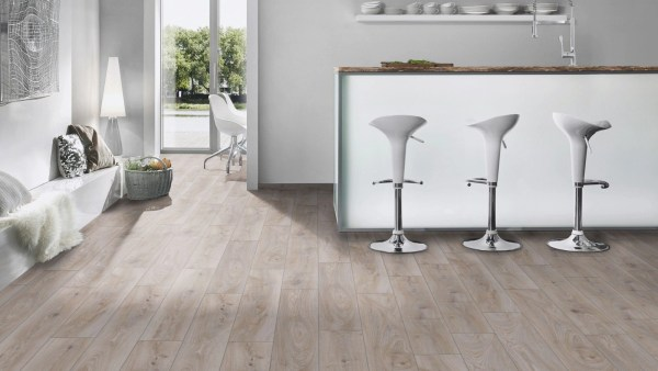 Fuzion Euro Supreme Laminate - Hardy Oak Kitchen @ Floors Direct North