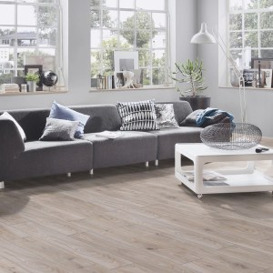 Fuzion Euro Supreme Laminate - Hardy Oak Living Room @ Floors Direct North