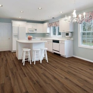COREtec Galaxy Luxury Vinyl - Whirlpool Oak (room) @ Floors Direct North