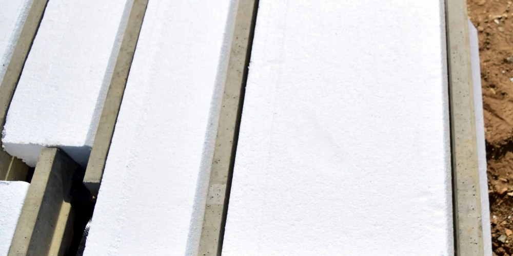Thermafloor EPS floor with light beam