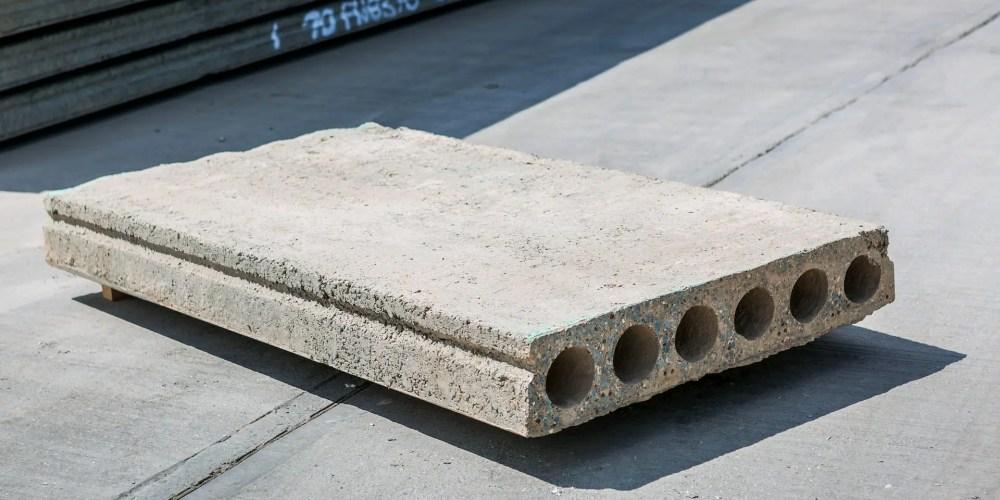 hollowcore concrete plank slab