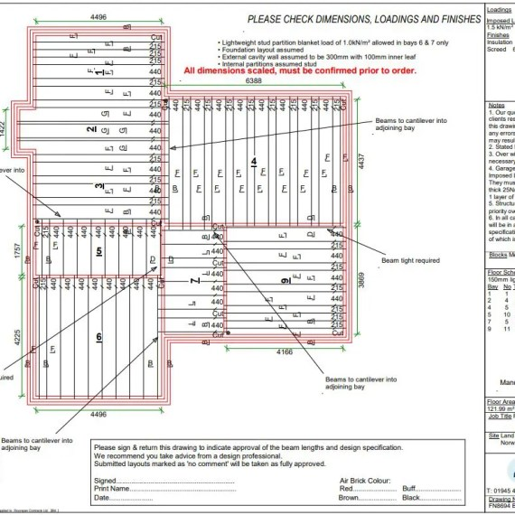 Floorspan Contracts Floor Layout Plan