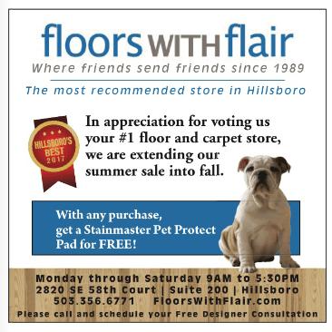 Flooring in Hillsboro OR  Free Room Measurements