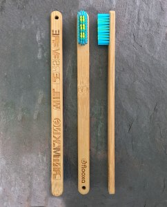 Bamboo Toothbrush – Artwork by Julio Diaz – 3 views