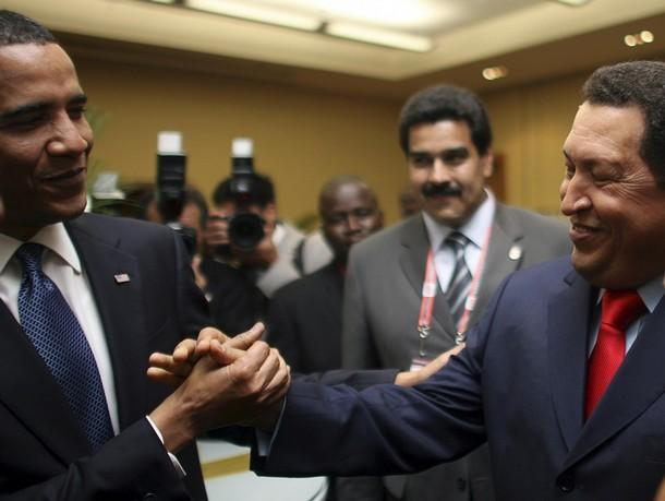 Obama courting Chavez