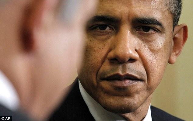 Image result for obama glares at netanyahu